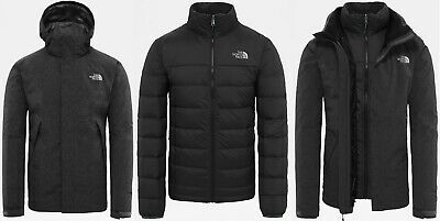 9dcdd142bf0e THE NORTH FACE MOUNTAIN DOWN TRICLIMATE - DRYVENT waterproof MEN S JACKET -  L