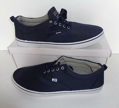 Mens Russell Athletic Trainers Navy Casual Lace Up New Shoes UK Sizes 10 & 11