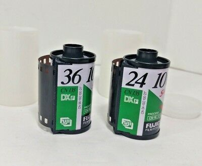 2 Rolls FUJI Fujifilm Super plus 100 ISO 24exp 35mm 135 Color Film