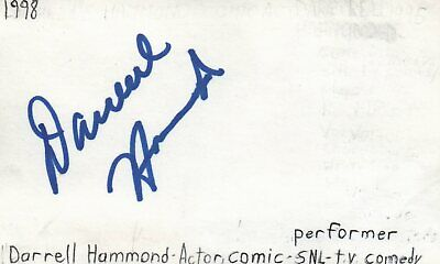 Cards & Papers Leonard Frey Actor 1976 Uja Telethon Tv Movie Autographed Signed Index Card