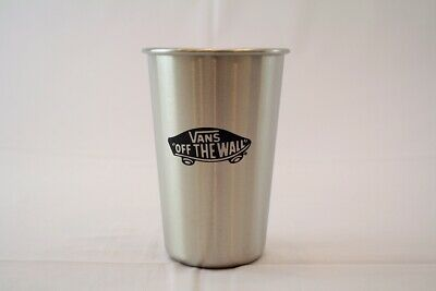 VANS Off the Wall Stainless Steel Tumbler Cup 16oz NEW