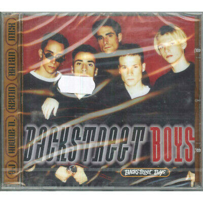 Backstreet Boys CD Backstreet Boys (Omonimo Same) Jive (7) 051 555-2 Sigillato