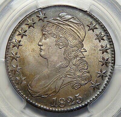 1825 Pcgs Ms64 Capped Bust Half Dollar