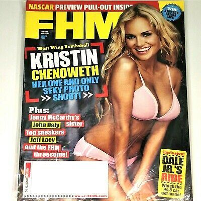 Kristin Chenoweth Fhm Magazine March 2006 Issue 65 New In Original