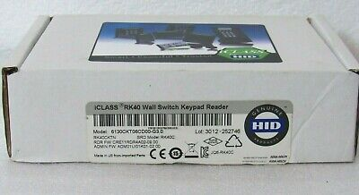 HID RK40CKTN iCLASS Keypad Smart Card Reader 6130CKT06CD00-G3.0 [CTNO]