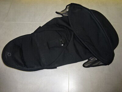 Genuine Quinny Zapp Xtra SEAT COVER/ Fabric Black for Seat Unit Frame