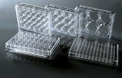 6-Well, 12-Well, 24-Well, 48-Well, 96-Well Cell Culture Plates (Sterile)