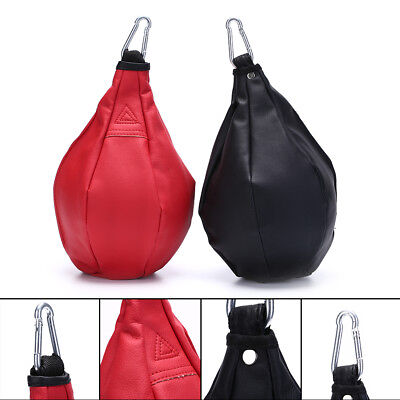 Boxing Pear Shape PU Speed Ball Swivel Punch Bag Punching Exercise Speedball JKU