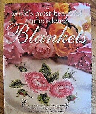 The World's Most Beautiful Embroidered Blankets HC DJ Inspirations Magazine Pub