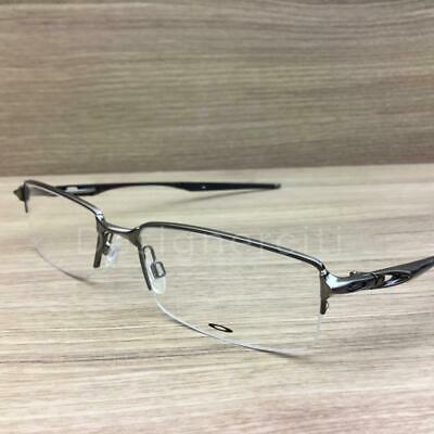 0f5374150a Oakley Halfshock Eyeglasses Brushed Chrome OX3119-0455 Authentic 55mm