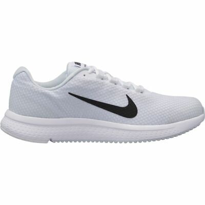 eaa6dd280abbe Nike RUN ALL DAY Mens White Black Grey 898464 101 Running Athletic Shoes