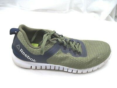 2617647220d5f4 Reebok Z Quick Lite green black running mens sneakers tennis athletic shoes  10D