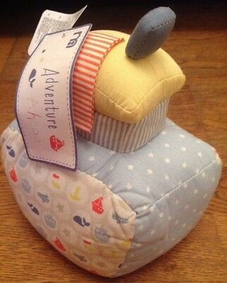 Mothercare Adventure Ahead Boat Shaped Door Stop...bnwt