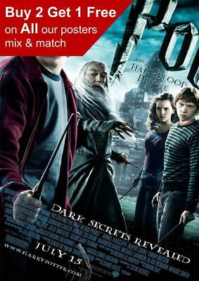 Harry Potter And The Half Blood Prince Movie Poster A5 A4 A3 A2 A1