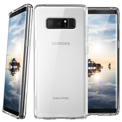 Fit Samsung Galaxy S10/Plus/S10e/Note 9/8/S9 Ultra Thin Crystal Clear Phone Case