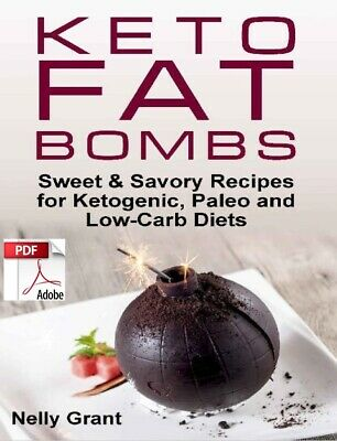 Keto Fat Bombs Sweet And Savoury Recipes **Instant Delivery eBook/Digital**