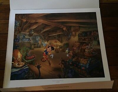 Tom Du Bois Pinocchio's Magical Adventure Numbered Print Ltd. Edition 214/4950