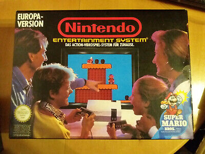 Originaler Leerkarton Nintendo Entertainment System Europa-Version Mario NES OVP