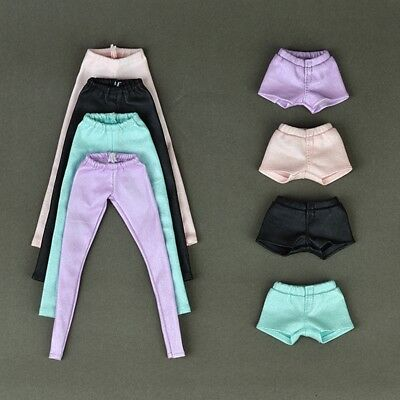 "High Quality Elastic Leather Bottoms Pants For 11.5"" Doll Clothes Trousers Toy"