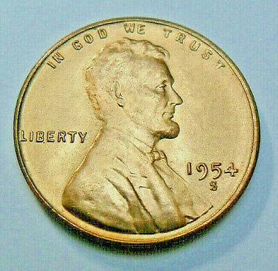 1954 S Lincoln Wheat Cent / Penny  *VERY FINE OR BETTER*  **FREE SHIPPING**