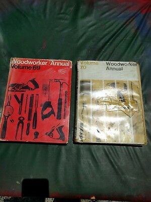 2 X Vintage Technical Woodworking H/Cover books. (British Publications)