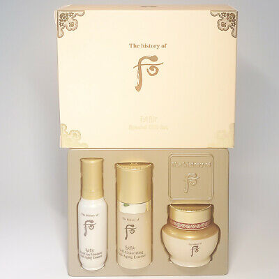 The History of Whoo Bichup Ja Saeng  Royal Anti-Aging Essence Gift Kit  K-beauty