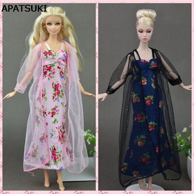 "2pcs/set Sexy Pajamas Lace Costumes Lingerie Sleepwear Clothes For 11.5"" Dolls"