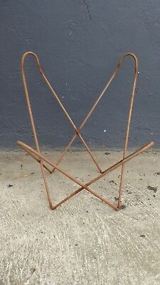 Vintage Childrens Metal Butterfly Chair Frame Solid Rod Australian Made