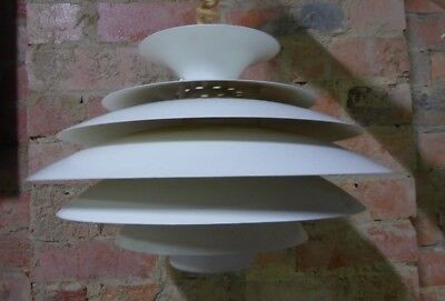 Vintage Louis Poulsen Ceiling Pendant Light Shade Original Retro Mid Century