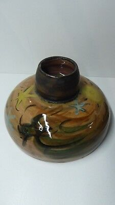 Lucy Hatton Beck Cheese Dome Australian Pottery Studio Ceramics Signed