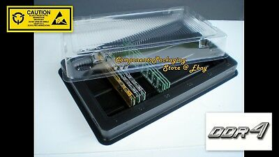 DDR4 Memory Packaging Tray box for PC4 PC Server DIMM Modules - 12 Fits 600 New