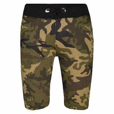Kids Boys Green Camouflage Chino Shorts Knee Length Half Pant New Age 5-13 Years