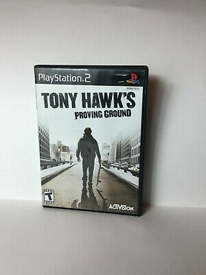Tony Hawks Proving Ground 2007 Video Game PS2 PlayStation 2 Sony Manual Complete