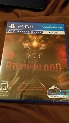 Until Dawn: Rush of Blood: VR for PlayStation 4 [New PS4] Sealed
