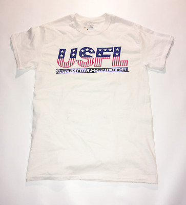 47be8acd6 USFL T-Shirt Size Small United States Football League