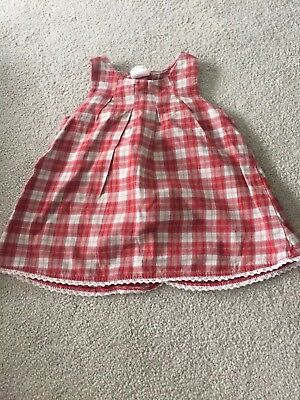 1c214fc43050 BABY GIRL H&M Red Check Dress Soze 2-4 Months - £0.99 | PicClick UK