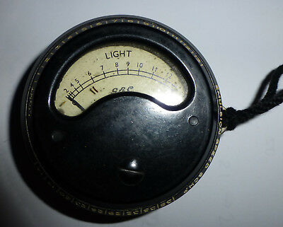 Vintage G.E.C. Photo Electric Exposure Meter Made in England