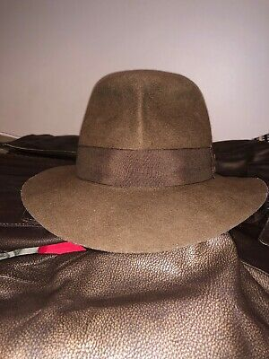 16 COLLECTION MENS Fedora Wool Hats Lot Medium Outback Trading ... f46d1a94b5b