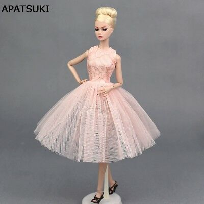 """Pink Doll Accessories Dancing Costume Ballet Dress For 11.5"""" Dolls Sundress Toy"""