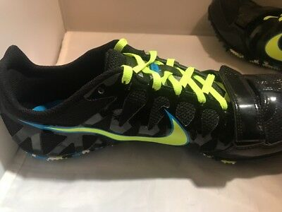 quality design e75fc ad403 Nike Zoom Rival S Track Field Sprint Spikes Shoes Men s 11 Black NEW 456812- 070