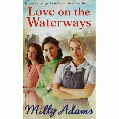 Love on the Waterways by Milly Adams (Paperback), Fiction Books, Brand New