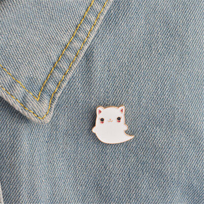 Arts,crafts & Sewing 1 Pcs Cartoon Moon Melody Metal Badge Brooch Button Pins Denim Jacket Pin Jewelry Decoration Badge For Clothes Lapel Pins Pretty And Colorful Apparel Sewing & Fabric