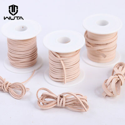 WUTA Flat Leather/Suede  Cord Lace Thong String Bracelet Jewellery 2mm 3mm 5mm