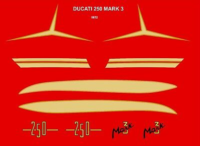decals ducati 250 mark3