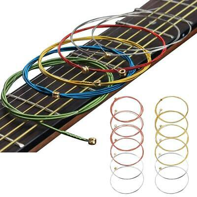 18pcs Acoustic Classic Steel Guitar Strings 3 Set Gauge Accessories Replacement