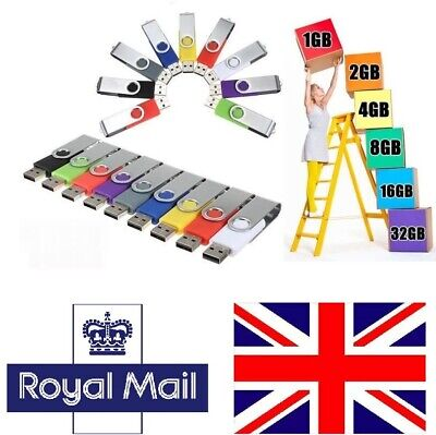 UK - Wholesale/Lot/Bulk - ( 10 Pack ) USB Flash Memory Stick Thumb Pen Drive U