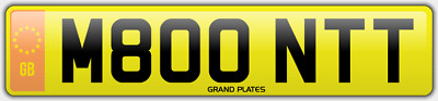 Monty Mont Number Plate Montague M800 Ntt No Added Fees Car Registration Montie