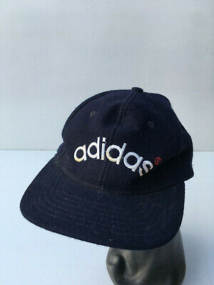 Vintage Original 90s ADIDAS Baseball Cap Hat Awesome Retro Trefoil