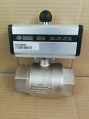 "Omal  2""BSP 2 Way Double Acting Pneumatic Actuated Ball Valve Typ DA45 D101H009M"