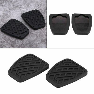 1 Pair Auto Brake Clutch Pedal Pad Rubber Cover Fit Nissan Qashqai 2007 - 2016